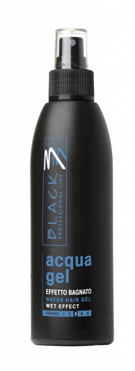 Black Acqua Gel Spray 200 ml - tekutý gél na vlasy