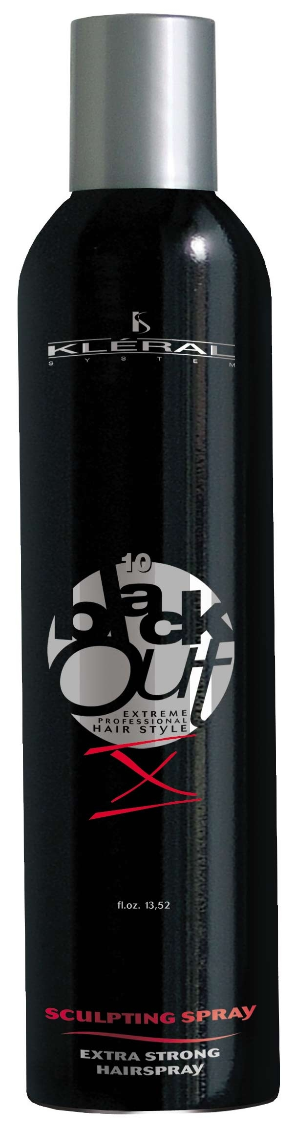 Kléral Black Out SCULPTING SPRAY - Extra Strong Hair Spray X 400 ml - lak na vlasy
