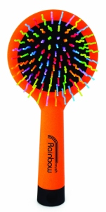 Rainbow Brush Orange Large - rozčesávacia kefa